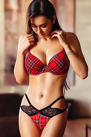 'Busty Russian Hottie' with Helga Lovekaty via Mr Skin